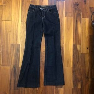 David Kahn Denim Jeans Dark Blue Size 27 x 34